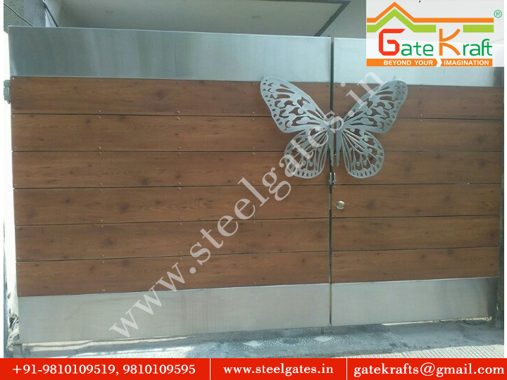 HPL Fundermax Steel Gate Manufacturer in Gurgaon