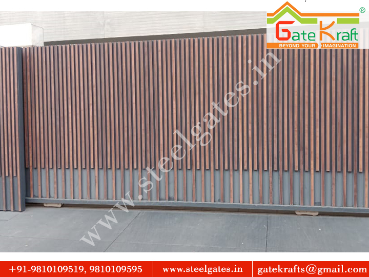 Sliding Entrance Automation Main Gate Manufacturer in Gurgaon