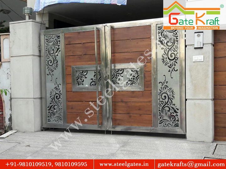 Stainless Steel Gate With CNC Laser Supplier in Gurgaon