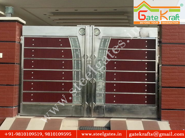Stainless Steel Gate With CNC Laser Manufacturer in Delhi